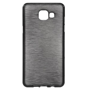 Brushed Soft TPU Case for Samsung Galaxy A5 SM-A510F (2016) - Black