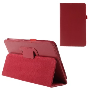 Leather Tablet Case with Stand for Samsung Galaxy Tab A 8.0 (2017) - Red