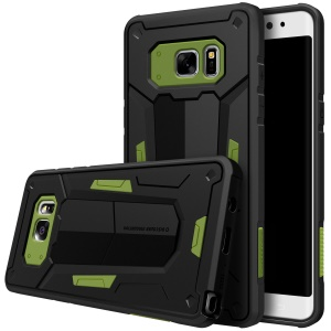 NILLKIN Defender II Strong Plastic + TPU Combo Case for Samsung Galaxy Note FE(Fan Edition) N935 - Green