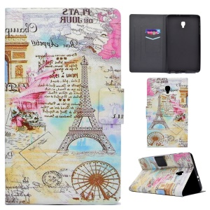 Fragrant Leather Smart Protection Cover for Samsung Galaxy Tab A 8.0 (2017) T385/T380 - UK Scenic Spot