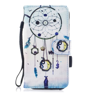 Pattern Printing Wallet Leather Stand Case for Samsung Galaxy A5 (2017) SM-A520 - Dream Catcher