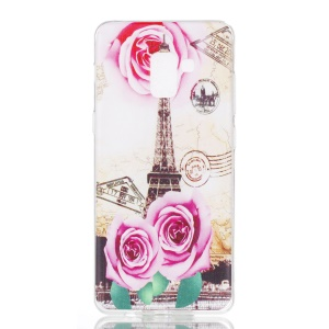 Rose and Eiffel Tower