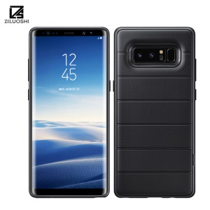 Cool Armor PC + TPU Hybrid Case with Invisible Kickstand for Samsung Galaxy Note 8 SM-N950 - Black