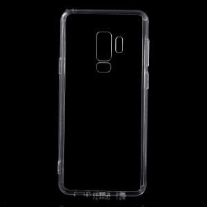 For Samsung Galaxy S9 Plus G965 Crystal Clear Acrylic+ TPU Hybrid Cover - Transparent