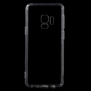 For Samsung Galaxy S9 G960 Crystal Clear Acrylic+ TPU Hybrid Case - Transparent