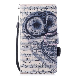 Owl and Musical Notation