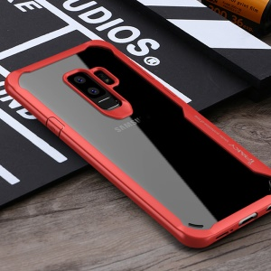 Custodia IPAKY Anti-drop PC + TPU Ibrida Per Telefono Cellulare Per Samsung Galaxy S9 - Rosso