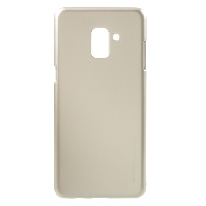 MERCURY GOOSPERY i JELLY Metallic TPU Cell Phone Cover for Samsung Galaxy A8 (2018) - Gold