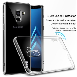 IMAK Crystal Case II Pro for Samsung Galaxy A8 (2018) Scratch-resistant Clear PC Case