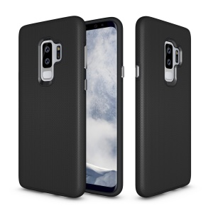 Anti-skid PC + TPU Protector Armor Casing for Samsung Galaxy S9 Plus - Black
