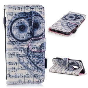 Owl and Music Note