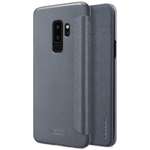 NILLKIN Sparkle Series Flip Leather Mobile Case for Samsung Galaxy S9+ G965 - Black