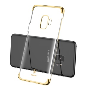 BASEUS Glitter Series Plated PC Hard Back Case for Samsung Galaxy S9 G960 - Gold