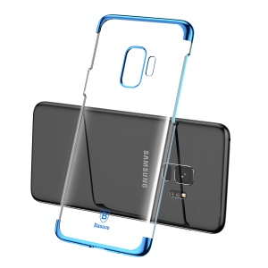 BASEUS Glitter Series Plated PC Hard Mobile Cover for Samsung Galaxy S9 G960 - Blue