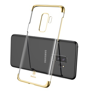 BASEUS Glitter Series Plating Hard PC Case for Samsung Galaxy S9+ SM-G965 - Gold