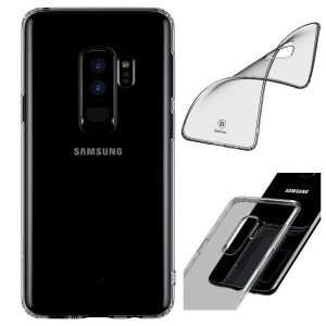 BASEUS Simple Series Clear Germany Bayer TPU Case for Samsung Galaxy S9+ SM-G965 - Grey
