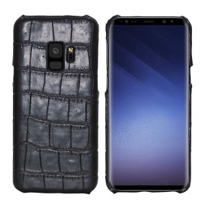 Crocodile Skin Leather Coated Hard PC Case for Samsung Galaxy S9 SM-G960