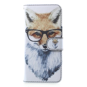 Fox Wearing Glasses