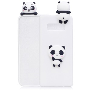 White Background Panda