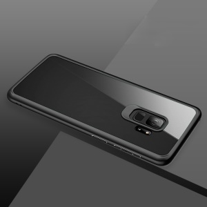 ROCK Ultra-thin TPU PC Clear Back Case for Samsung Galaxy S9 G960 - Black