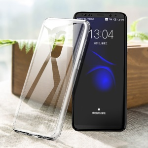 ROCK Pure Series Transparent TPU + PC Combo Cover for Samsung Galaxy S9 Plus SM-G965 - Transparent