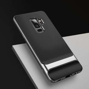 ROCK Royce Series PC + TPU Hybrid Shell Case for Samsung Galaxy S9+ SM-G965 - Grey
