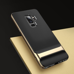 ROCK Royce Series PC + TPU Hybrid Case for Samsung Galaxy S9+ SM-G965 - Gold