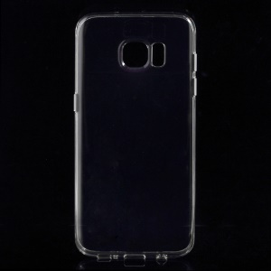 See-through TPU Back Case for Samsung Galaxy S7 edge - Transparent