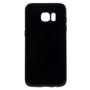 Solid Color TPU Case for Samsung Galaxy S7 edge - Black