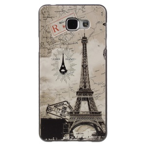 Embossed TPU Case for Samsung Galaxy A7 SM-A710F (2016) - Eiffel Tower