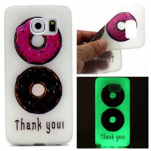 Luminous TPU Soft Gel Cover for Samsung Galaxy S7 - Biscuits