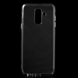 Transparent TPU Back Phone Case with Non-slip Inner for Samsung Galaxy A6 Plus (2018) / A9 Star Lite