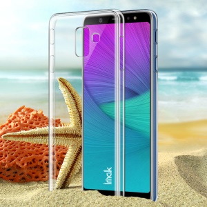IMAK Crystal Case II for Samsung Galaxy A6 (2018) Scratch-resistance Clear See-through Hard Cover