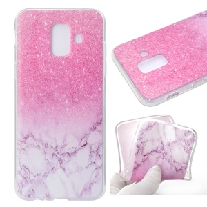 Printing Pattern TPU Protection Back Phone Case for Samsung Galaxy A6 (2018) - Colorized Pattern