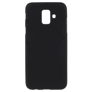 Double-sided Matte TPU Case for Samsung Galaxy A6 (2018) - Black