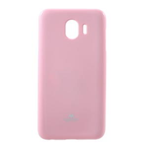 MERCURY GOOSPERY for Samsung Galaxy J4 (2018) Flash Powder TPU Cover Shell - Pink