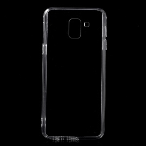 Crystal Clear Acrylic+ TPU Hybrid Back Case for Samsung Galaxy J6 (2018) - Transparent