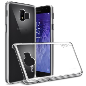 IMAK Crystal Case II Scratch-resistant Clear PC Phone Case + Screen Protector for Samsung Galaxy J4 (2018) J400F J400G