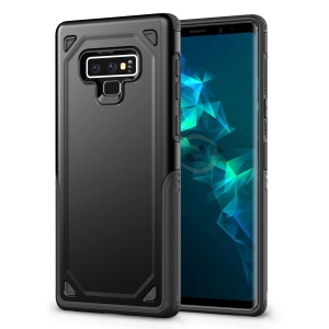 Hybrid PC + TPU Armor Rugged Cover for Samsung Galaxy Note 9 - Black