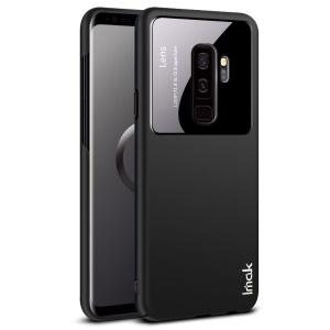 IMAK Jazz Lens Skin Feel PC Phone Case for Samsung Galaxy S9+ SM-G965 - Black