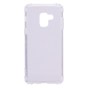 Shockproof TPU Cover Case for Samsung Galaxy A6 (2018) - Transparent