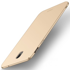 MOFI Shield Frosted Ultra-thin Plastic Cover Accessory for Samsung Galaxy J3 (2018) J337 / J3 Star - Gold