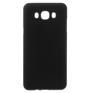 Matte Gel TPU Case Cover for Samsung Galaxy J7 (2016) - Black