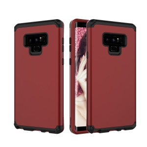 Detachable Shockproof PC + TPU Hybrid Cover for Samsung Galaxy Note 9 - Red