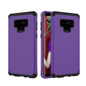 Detachable Shockproof Plastic + TPU Combo Case for Samsung Galaxy Note 9 - Dark Purple