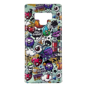 IMD Luminous Patterned TPU Back Cellphone Case for Samsung Galaxy Note 9 - Wow Brains
