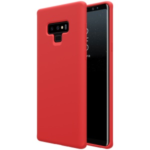 NILLKIN Flex Pure Series Liquid Silicone Cover for Samsung Galaxy Note 9 - Red