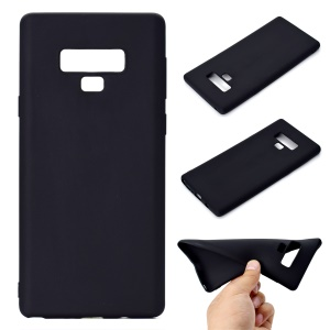 Soft Matte TPU Back Case for Samsung Galaxy Note 9 - Black