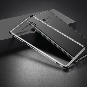 BASEUS Shining Series Plated TPU Case for Samsung Galaxy Note 9 - Black