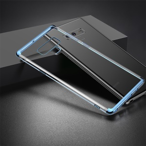 BASEUS Shining Series Plated TPU Cover for Samsung Galaxy Note 9 - Blue